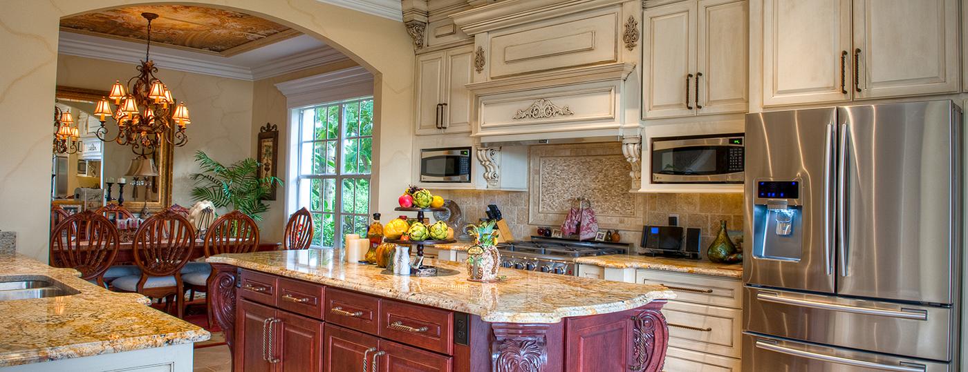 Orlando custom kitchen remodeling design alair homes for Kitchen remodel orlando