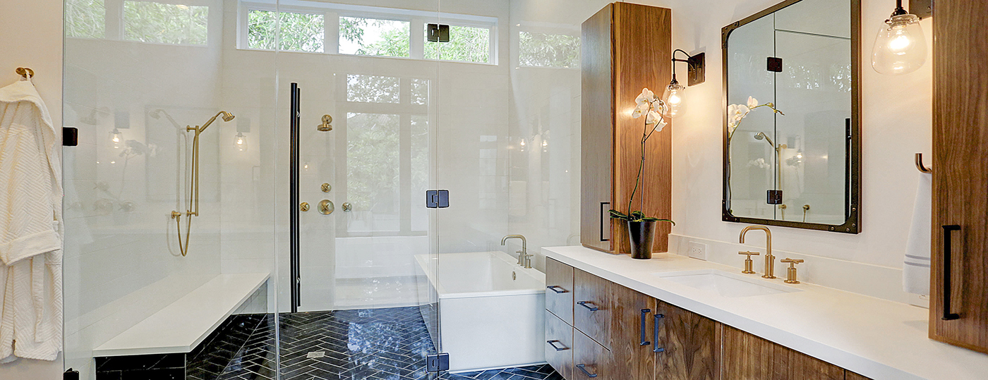 Glen Cove Master Bathroom