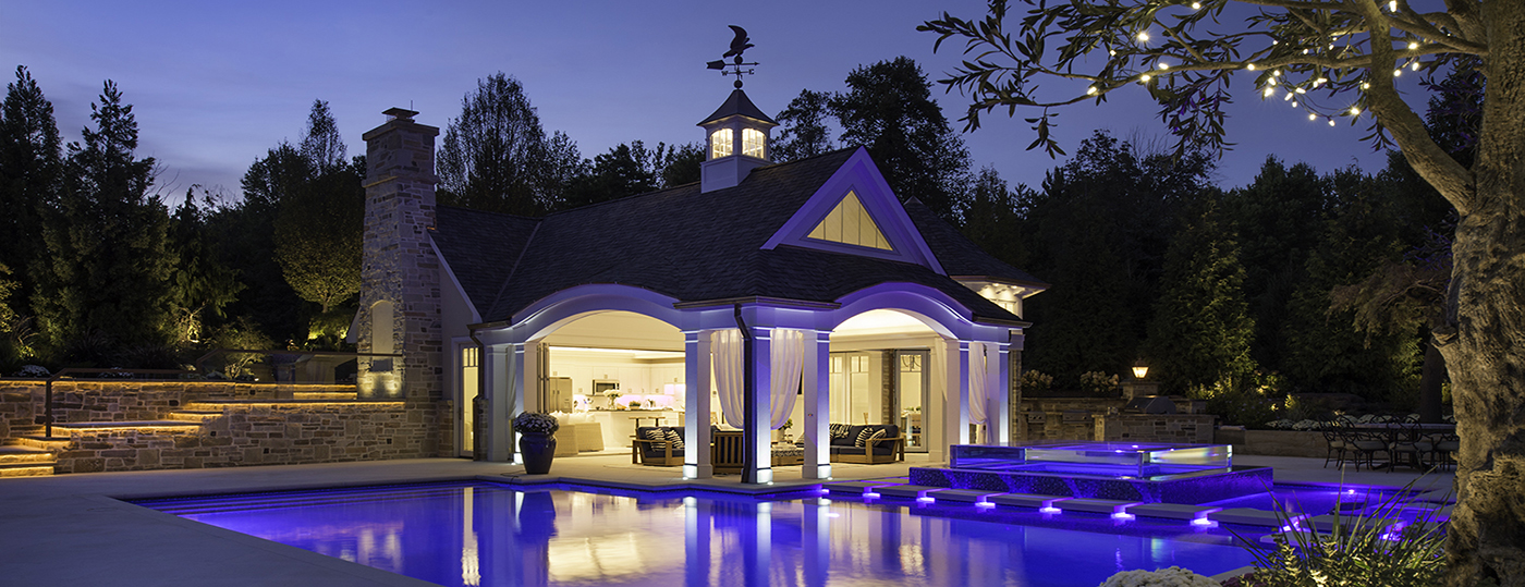 Hunting Valley Custom Pool House