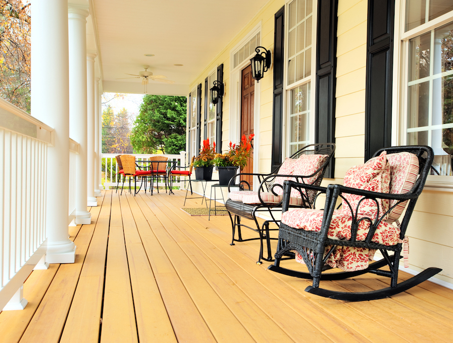 front porch remodels